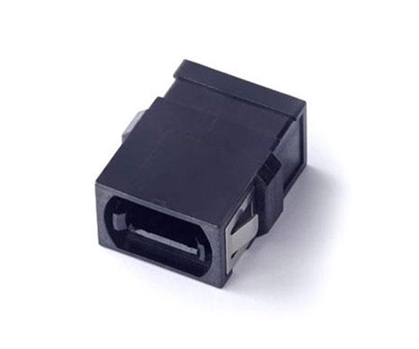 MPO adapter flangeless