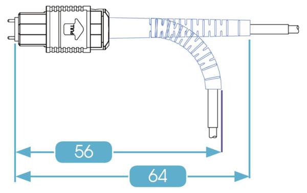 MPO Connector Flexible Boot