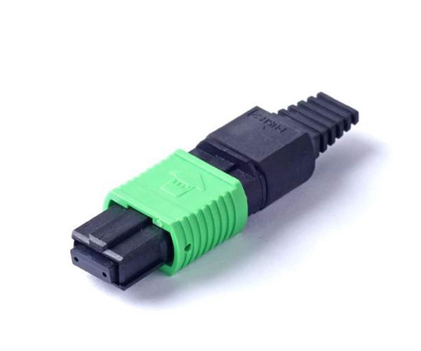 Ribbon Bare Fiber MPO Connector