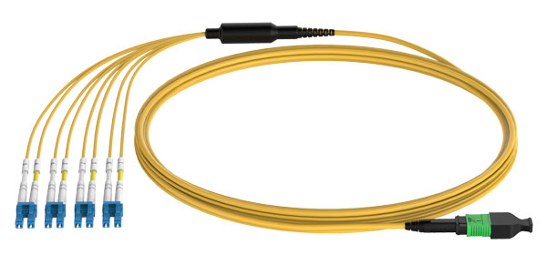 MPO-LC 8F SM Harness Cable