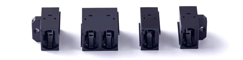 Multicores MPO stackable adapter