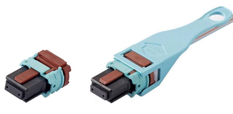 Micro Short MPO Connector Pull Tab