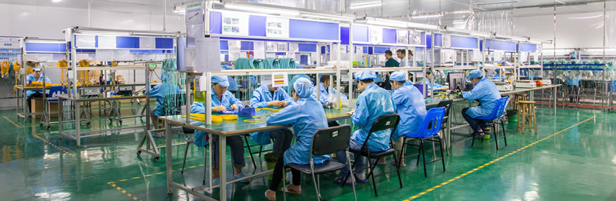 FSG MPO Patch Cord Assembly Production
